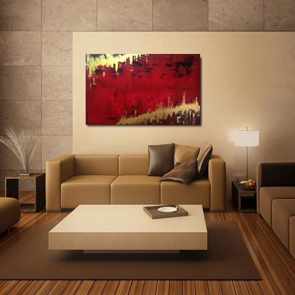 art gallery, pictures on wall, oversize painting, acrylic painting