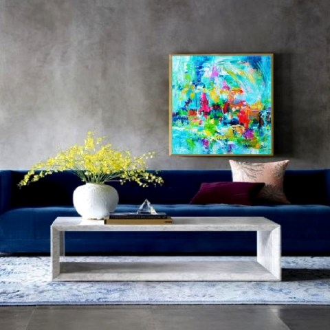 abstract painting, oversize painting, modern pictures