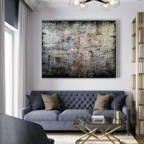 oversize wall art, home design, artgallery, modern painting