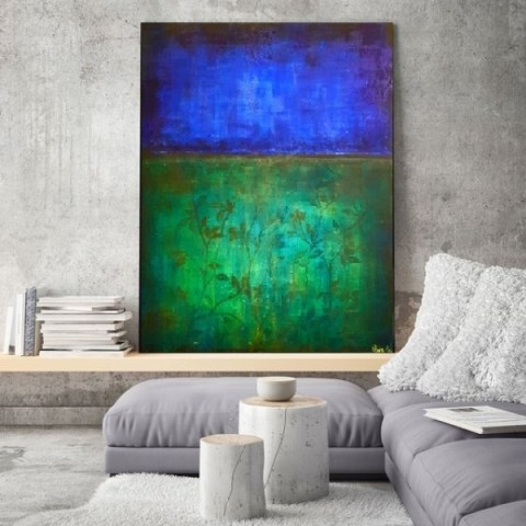 contemporary painter, abstract painting, large modern art