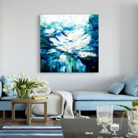 contemporary-painting-lily-s-waves-flow