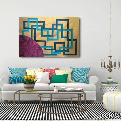 contemporary painting, painting gallery, oversize wall art