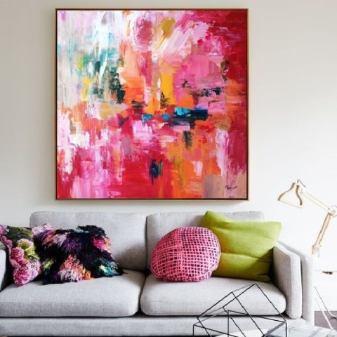 abstract painting, extra large art, contemporary art