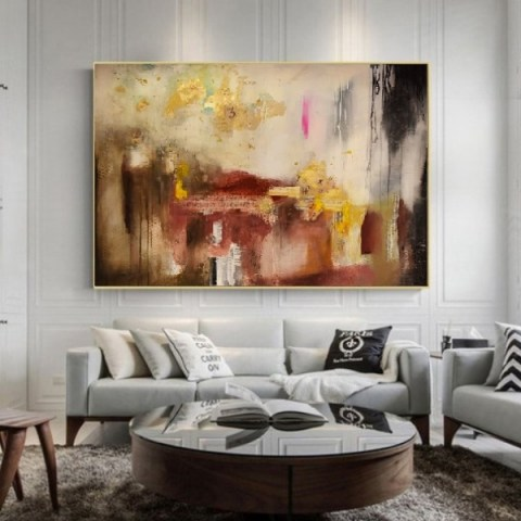 oversize painting, oversize wall art, large canvas art