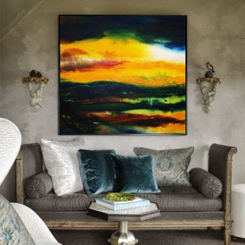 landscape painting, online gallery, canvas paintings