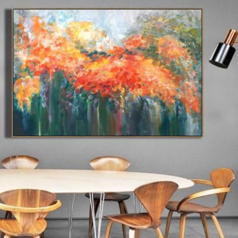 abstract painting, canvas paintings, big picture