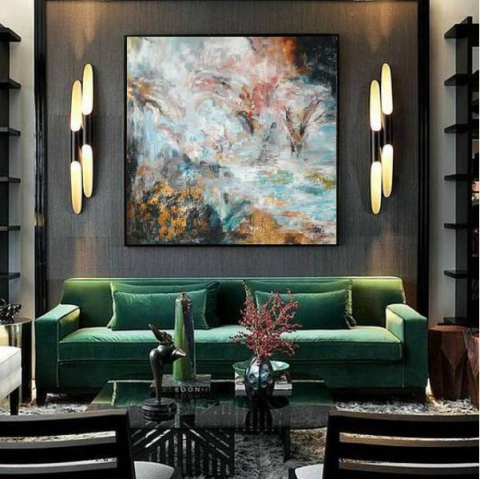abstract painting, modern paintings, canvas painting