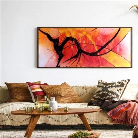 abstract paintings, modern painting, horizontal paintings