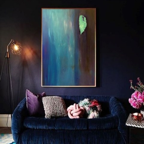 vertical painting, online gallery, canvas paintings