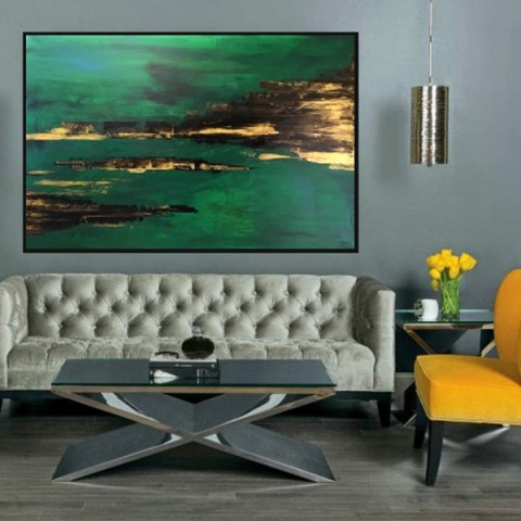 acrylic painting, abstract painting, big painting