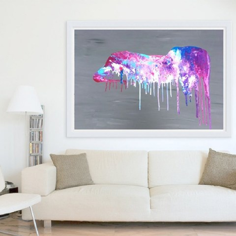 abstract painting, big painting, canvas painting, canvas picture