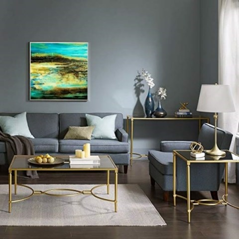 large wall art, abstract landscape, modern gallery