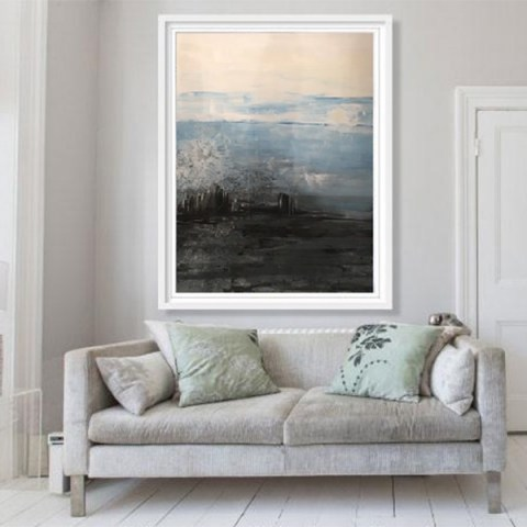 vertical paintings, landscape painting, modern picture
