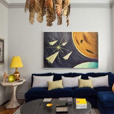 pictures on wall, modern gallery, contemporary art